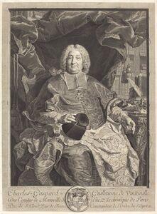 Claude Drevet after Hyacinthe Rigaud, 'Charles-Gaspard-Guillaume de Vintimille du Luc, Archbishop of Paris'