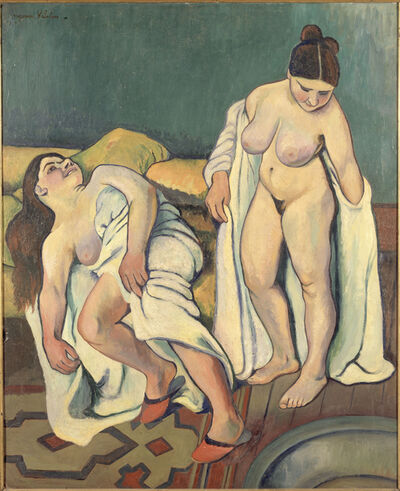 Suzanne Valadon, 'Two Figures (After the Bath, Neither White nor Black)', 1909