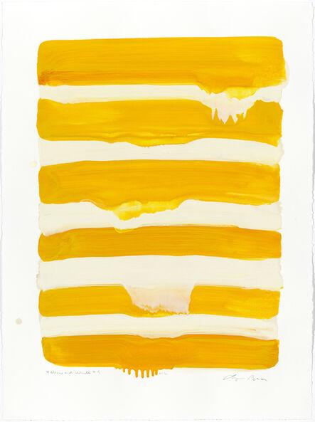 Lynn Basa, 'Yellows and White #4', 2013