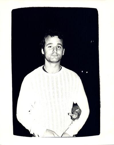 Andy Warhol, 'Andy Warhol, Photograph of Bill Murray circa 1981', ca. 1981