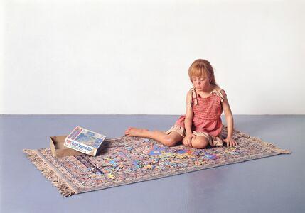 Duane Hanson, 'Child with Puzzle', 1978