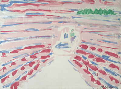 Stephen Pace, 'Red Wake', 1984