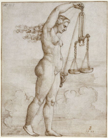 Georg Pencz, 'Allegory of Justice', 1533