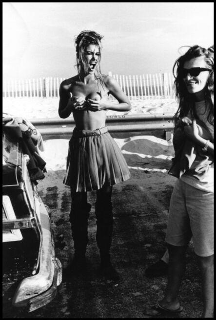 Arthur Elgort, 'Susan Holmes on Flying Point Road, Long Island, VOGUE Italia', 1991