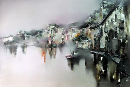 Gao Xiao Yun 高小云, 'Jade Stream in Autumn 碧流清秋 ', 2017