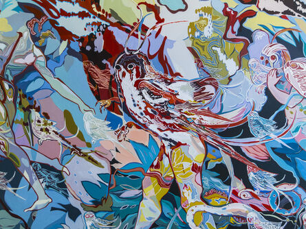 Vladimir Grig, 'Pangaea Ultima II, fragment', 2015