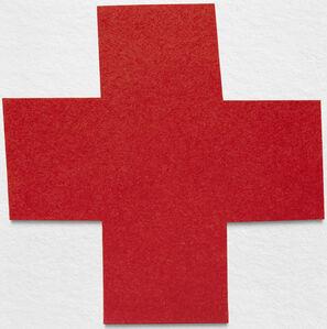 Ion Zupcu, 'Red Cross', 2014