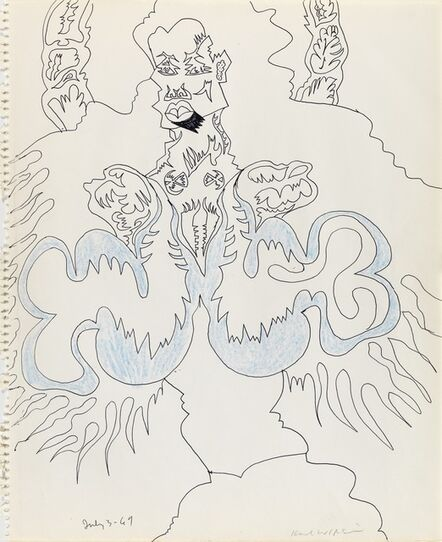 Karl Wirsum, 'Untitled', 1969