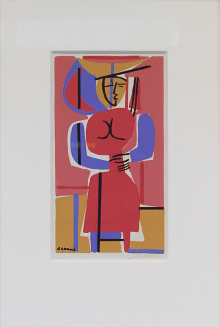 Luis Seoane, 'Dama', ca. 1960