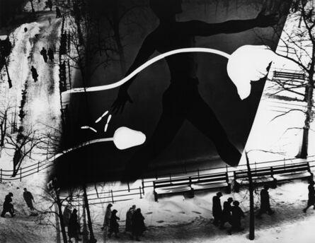 Barbara Morgan, 'Spring on Madison Square (Photomantage)', 1938-printed circa 1972