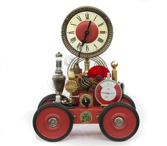Roger Wood, 'Clock on Wheels (6427)', 2018