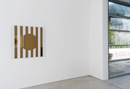 Daniel Buren, 'Les Visages colorés III B - rosé', 2005