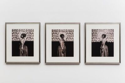 Barron Claiborne, '(Old) Orleans Before The Deluge (Triptych) #2', 2005