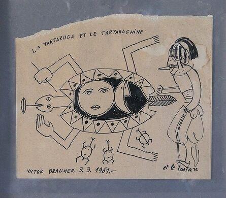 Victor Brauner, 'La tartaruga et le tartarughine', 1961