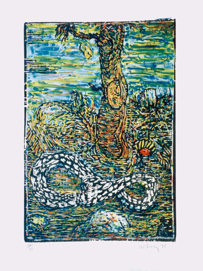 William T. Wiley, 'In the Garden', 1996