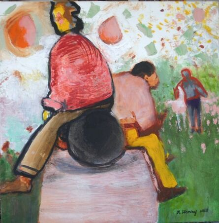 Robert Henry, 'Meditation on a Ball', 2013