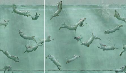 Zhou Hongbin, 'Aquarium 26 (diptych) ', 2014