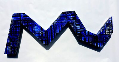 Jorge Enrique, 'Wall object #5 (ultramarine blue)', 2017