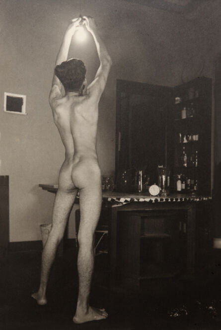 Lionel Wendt, 'Untitled (Nude with a light bulb)', ca. 1935