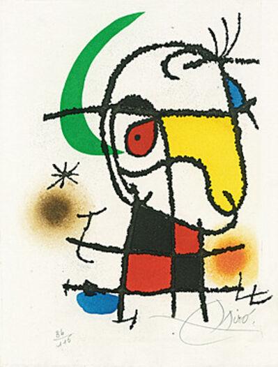 Joan Miró, 'Le vent parmi les roseaux (William Butler Yeats) (Der Wind im Schilf) (The wind among the reeds)', 1971