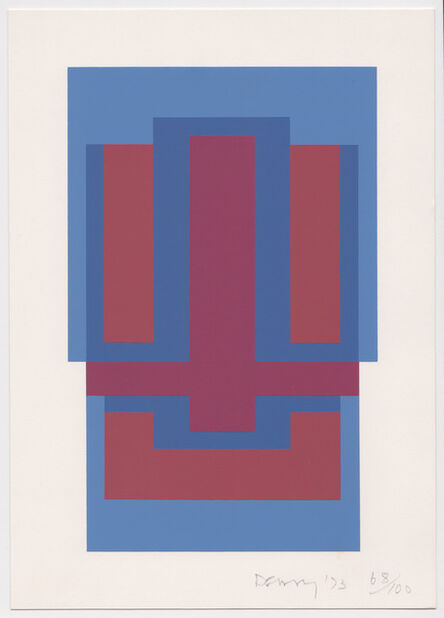 Robyn Denny (1930-2014), 'Untitled (from eighteen small prints)', 1973