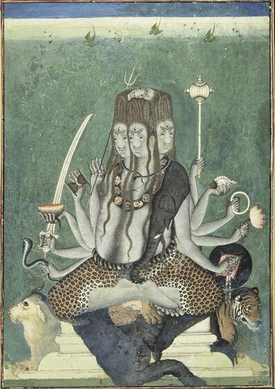'The five-faced Shiva', ca. 1730-40