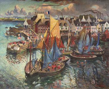 Hayley Lever, 'Concarneau (Quatorze Juillet)', 1911