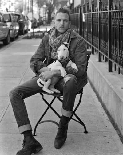 Robert Kalman, 'Aaron with Harley Jane', 2016