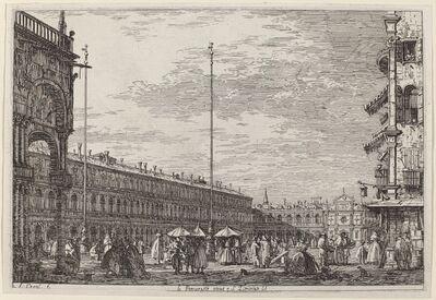 Canaletto, 'Le Procuratie niove e S. Ziminian V.', ca. 1735/1746