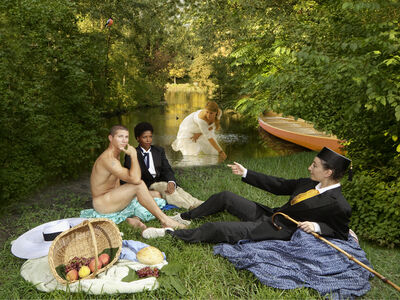 E2 - KLEINVELD & JULIEN, 'Ode to Manet's Déjeuner sur l'herbe', 2011