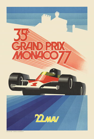 Roland Hugon, 'Monaco Grand Prix 1977', 1990