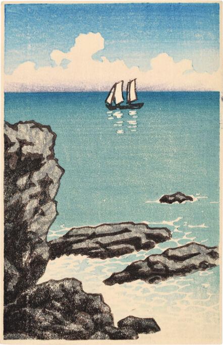 Kawase Hasui, 'Seascape', ca. 1930s