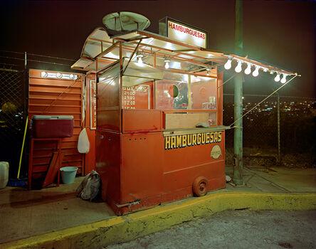 Jim Dow, 'Carrito Selling Hamburgers, Miramar Progreso, Naucalpan, Mexico State, Mexcio', 2006