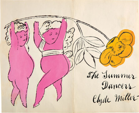 Andy Warhol, 'The Summer Dancers', 1957