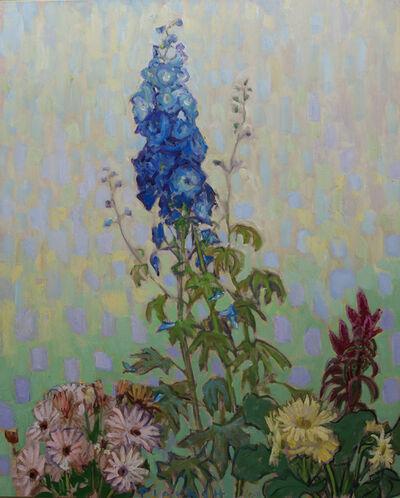 Joseph Plaskett, 'The Blue Delphinium 2'