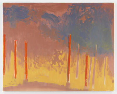 Esteban Vicente, 'Across', 1993