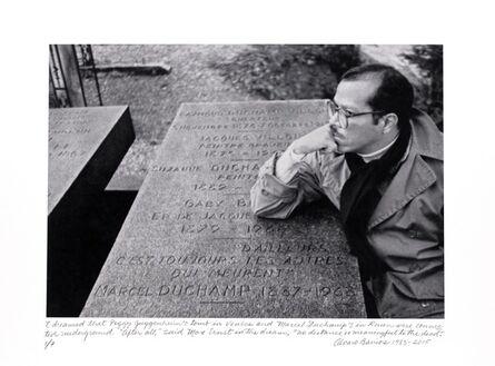 """Álvaro Barrios, '""""Soñé que las tumbas de Peggy Guggenheim y Marcel Duchamp estaban conectadas bajo la tierra...""""', 1983"""