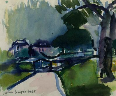 Jason Berger, 'Boston Public Garden', 1955
