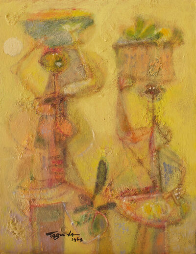Romeo Tabuena, 'Sellers with Baskets', 1964