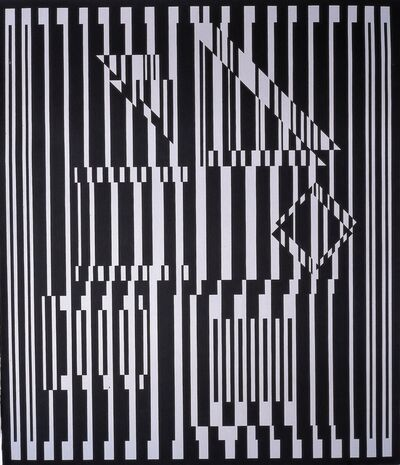 Victor Vasarely, 'Avall', 1975-1988