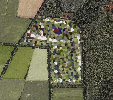 Mishka Henner, 'Dutch Landscapes, Staphorst Ammunition Depot, Overijssel', 2011