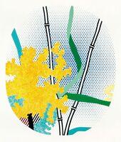 Roy Lichtenstein, 'Flower with Bamboo', 1996