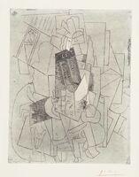 Pablo Picasso, 'L'Homme au Chien (Rue Schœlcher)', 1915