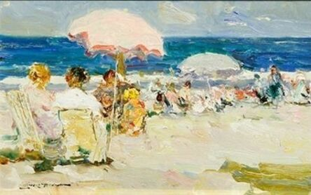 Giner Bueno, 'Verano en Playa de Valencia (Summer on the Beach of Valencia)', 2014