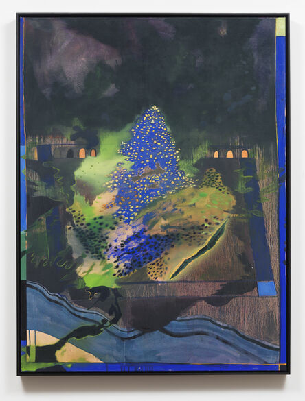 Adam Lee, 'Votive (Blue Altar)', 2016