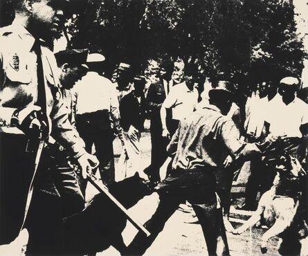 Andy Warhol, 'Birmingham Race Riot (from Ten Works x Ten Painters)', 1964
