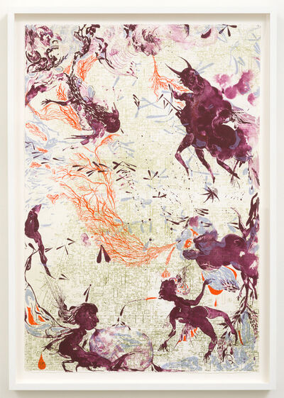 Rina Banerjee, 'Ivory Hunters...', 2011