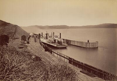 Carleton E. Watkins, 'The Ferryboat Solano', 1879