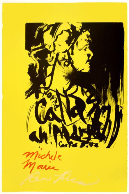 Rene Ricard, 'Michele Maria', 1989