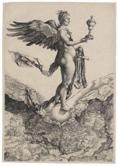 Albrecht Dürer, 'Nemesis (B. 77; M., Holl. 72; S.M.S. 33)', ca. 1501